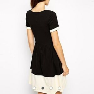 ASOS Dresses - ASOS Black Skater Dress